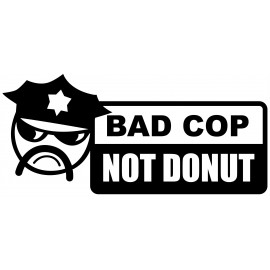 BAD CUP NOT DONUT
