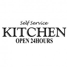 SELF SERVICE KITCHEN OPEN 24 H
