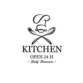 KITCHEN OPEN 24 H SELF SERVICE