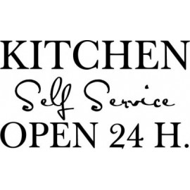 KITCHEN SELF SERVICE OPEN 24 H