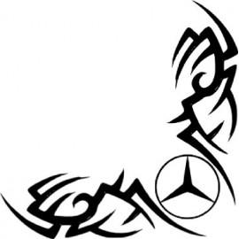 Mercedes heijastintarra