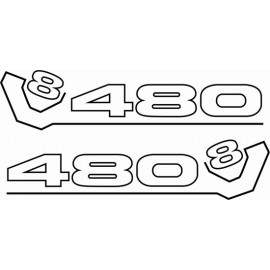 SCANIA 480 V8