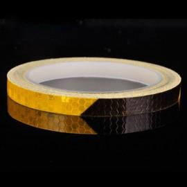 3M  3D HEIJASTIN/ STRIPE TEIPPI-MUSTA- KELTAINEN