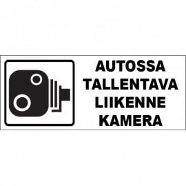 AUTOSSA TALLENTAVA KAMERA