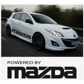 POWERED BY MAZDA