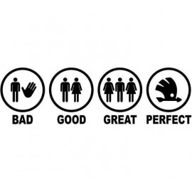 BAD GOOD GREAT PERFECT SKODA