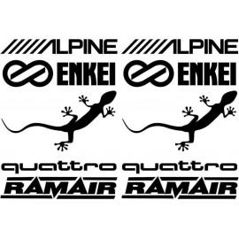 ALPINE,RAMAIR....