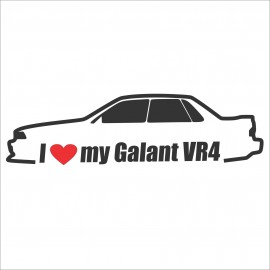 I LOVE MY 6G-GALANT VR4