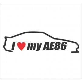 I LOVE MY AE86