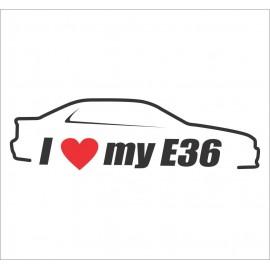 I LOVE MY E36