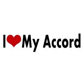 I LOVE MY ACCORD