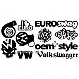 VW-arkki - 10 tarraa