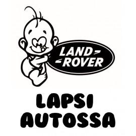 LAPSI AUTOSSA/   LAND ROVER