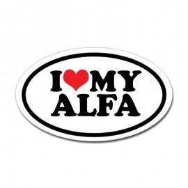 I LOVE MY ALFA