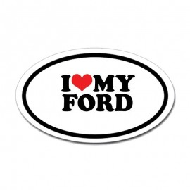 I LOVE MY FORD