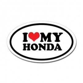 I LOVE MY HONDA