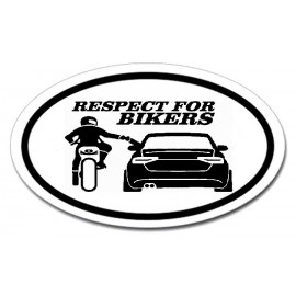 Respect for bikers - Audi A4