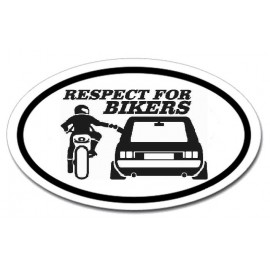 Respect for bikers - Golf Mk1