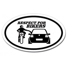 Respect for bikers - Golf 4