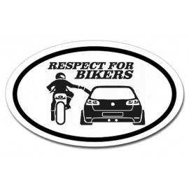 Respect for bikers - Golf R