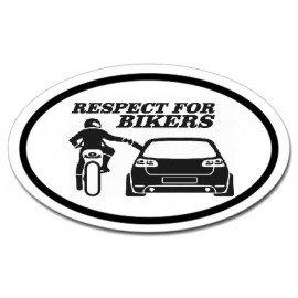 Respect for bikers - Golf 6 Gti