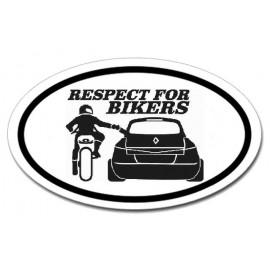 Respect for bikers - Megane 2