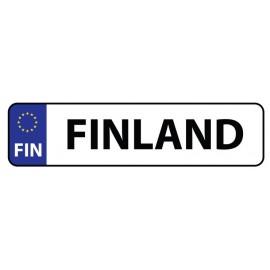REKISTERIKILPI TARRA FINLAND