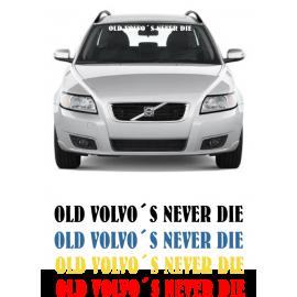 OLD VOLVO´S NEVER DIE