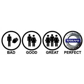 BAD GOOD GREAT PERFECT
